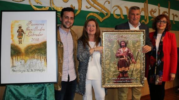 Una pintura de Rafael Mateo anuncia la Romería de San Isidro 2018  en Cartaya