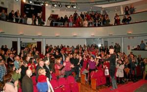 La obra se representa el sábado 21 de abril en el Teatro de Cartaya.