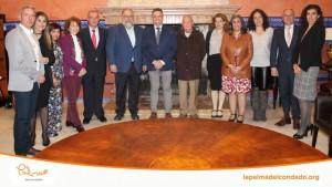 Miembros del Colegio de Economistas de Huelva han visitado La Palma del Condado.