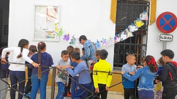 Los escolares de Lucena celebran el Día del Libro de una forma muy especial