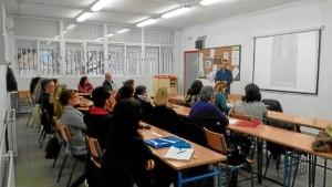 I Jornada de Inmersión lingüística que tuvo lugar el curso pasado en la EOI.