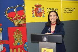 Asuncion Gravalos, subdelegada del Gobierno en Huelva.