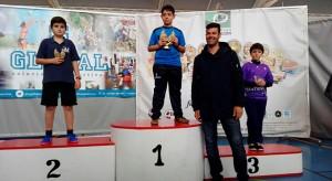 Raúl Vázquez se impuso en la categoría Benjamín en Ayamonte.