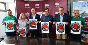 Un momento de la presentación del torneo que albergará la localidad lepera. / Foto: www.andaluzabaloncesto.org/huelva.