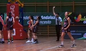 El CB Conquero peleará este domingo por el bronce en el Andaluz Junior femenino de baloncesto. / Foto: @CBConquero.