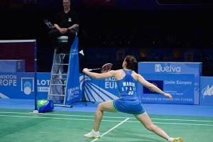 Carolina fue muy superior a su oponente en la final y ganó en dos sets. / Foto: Pablo Sayago.