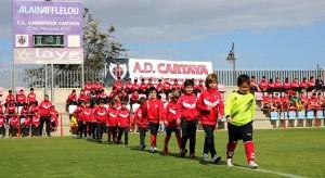 Fue una gran fiesta del fútbol base de Cartaya.