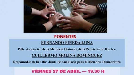 La Tertulia Cultural Mazagonense aborda la Memoria Histórica Democrática