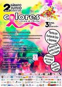 Cartel de la prueba deportiva y solidaria que tendrá lugar en Valverde del Camino.