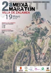 Cartel anunciador de la prueba ciclista que tendrá lugar el próximo 19 de mayo en Zalamea La Real.