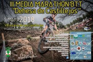 Cartel anunciador del evento que tendrá lugar en Villanueva de los Castillejos.