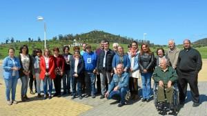 Foto de familia de la Comisión.