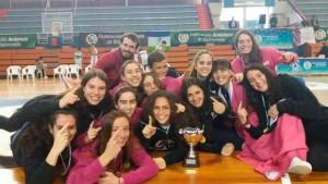 El CB Conquero espera hacer un buen papel en el Campeonato de Andalucía Junior femenino de baloncesto.