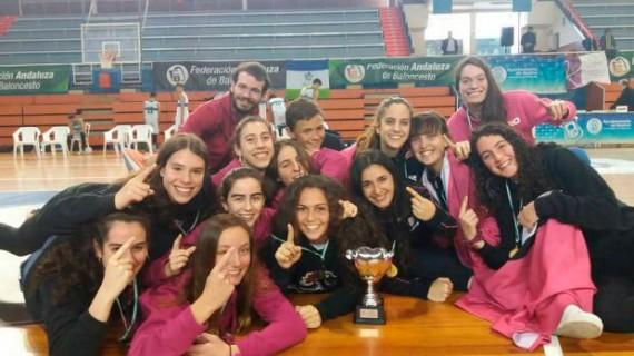 Comienza la andadura del Conquero en el Campeonato de Andalucía Junior femenino de baloncesto