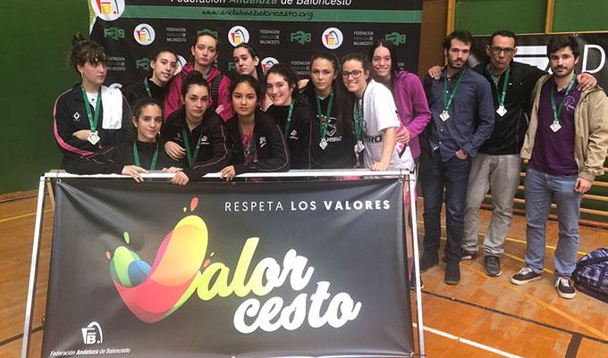 El CB Conquero cierra con la cuarta plaza un agridulce Campeonato de Andalucía Junior de baloncesto