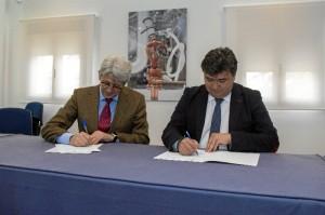 Firmado un nuevo convenio entre el Ayuntamiento de Huelva y la Fundación Cepsa.