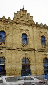 Los arcos de herradura de su fachada son característicos de la arquitectura islámica. / Foto: Jesús Bellerín.