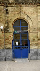 La Asociación de Amigos del Ferrocarril Onubense propone la creación de un museo ferroviario en el edificio. / Foto: Jesús Bellerín.