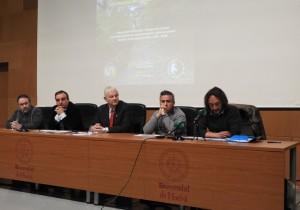 Presentación del simposio en la UHU.