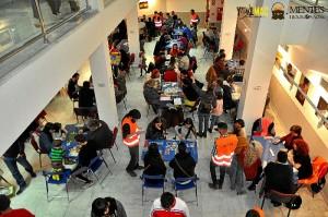 Foto del anterior Encuentro de Juegos de Mesa, Rol y Miniaturas.