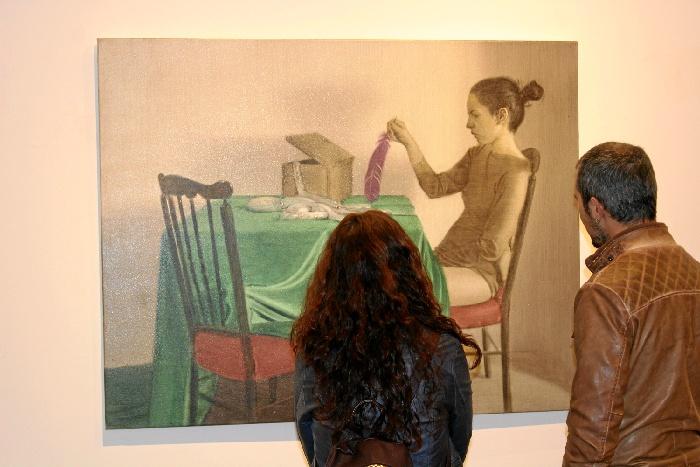 Inauguración de la exposición 'Afluente lodoso' de Antonio Montalvo