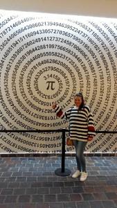 Esta profesora almonteña coordina y desarrolla numerosas actividades sobre las Matemáticas.