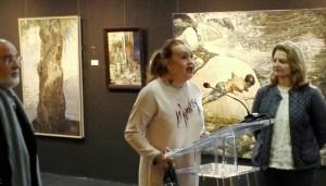 Inauguración de la exposición 'Memoria y el Tiempo'.