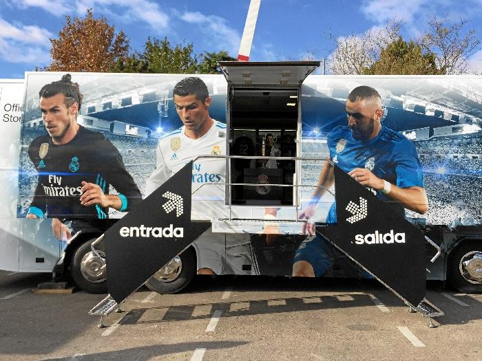Real Madrid Official Store 'Roadshow' llega a Huelva.
