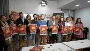 Presentación del Festivalle 2018 en la Diputación Provincial de Huelva. /Foto: Jesús Bellerín.
