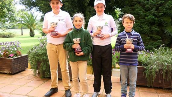Las mejores promesas del golf de Andalucía se dieron cita este fin de semana en Isla Canela