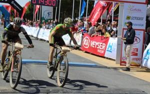 Más de 200 kilómetros han tenido que recorrer los participantes en esta dura prueba.