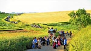 Celebración de la Romería de Trigueros del sábado 28 de abril al martes 1 de mayo.