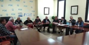 FOE y sindicatos negocian el convenio de la Automoción en la provincia.