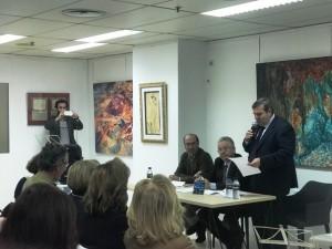Francisco José Martínez López presentó las intervenciones.