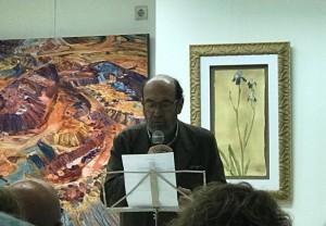 Ramón Llanes cerró el acto.