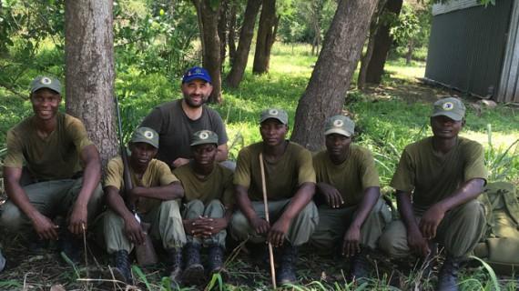 El almonteño José María Galán viaja a África para combatir en origen el tráfico internacional de especies