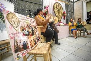 Los fandagos y las seguidillas son los protagonistas de las dos veladas diferenciadas bajo los nombres de 'La Cruz Grande' y 'La Cruz Chica' .
