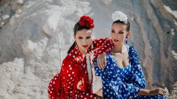 La Huelva marinera se viste de flamenca