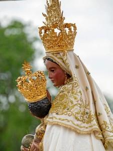 La Sagrada Imagen de la Virgen de la Peña ha sido recientemente restaurada