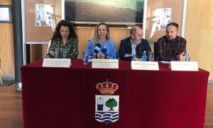 Un momento de la presentación del II Torneo 'Mojama Cup', que se jugará este próximo martes en Isla Cristina.