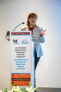 Estela González, supervisora del servicio de aguas.