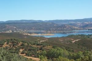 Vistas desde el mirador El Embalse.
