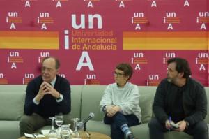 Díaz Trillo durante su intervención en La Rábida.