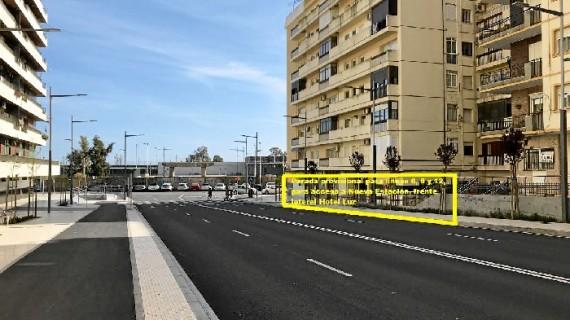 Emtusa establece paradas provisionales junto a la estación hasta que Adif finalice el acceso directo definitivo