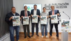 Un momento de la presentación en la Diputación Provincial de la prueba ciclista de Paterna.