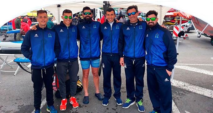 Excelente participación del Real Club Marítimo de Huelva en la I Copa de España de Sprint Olímpico de Piragüismo