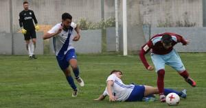 Los onubenses lograron tres puntos para seguir con esperanzas de salvación. / Foto: recrecantera.es.