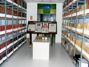 Imagen del Archivo Histórico Minero de la Fundación Río Tinto, donde ha encontrado gran parte de las fuentes utilizadas para el estudio. / Foto: Juan Manuel López.