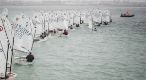 Un total de 120 regatistas se dieron cita en la prueba celebrada en aguas de Cádiz.
