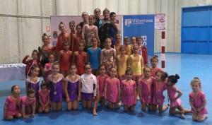 Gran exhibición de gimnasia rítmica en Villarrasa este fin de semana.